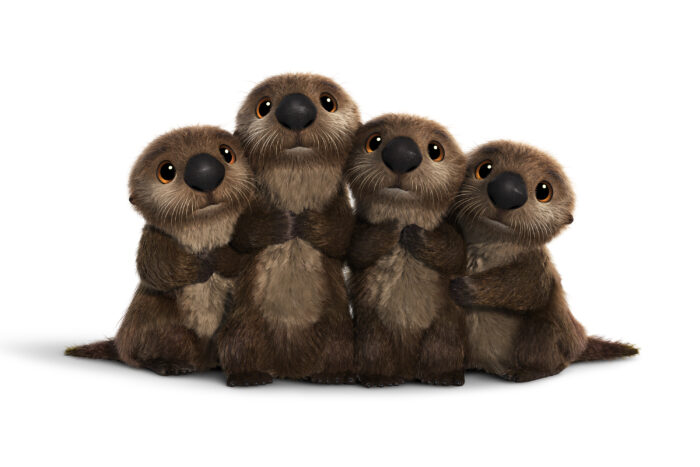 FINDING DORY - OTTERS are seriously cute. Seriously, who can resist their sweet, furry faces? ©2016 Disney•Pixar. All Rights Reserved.