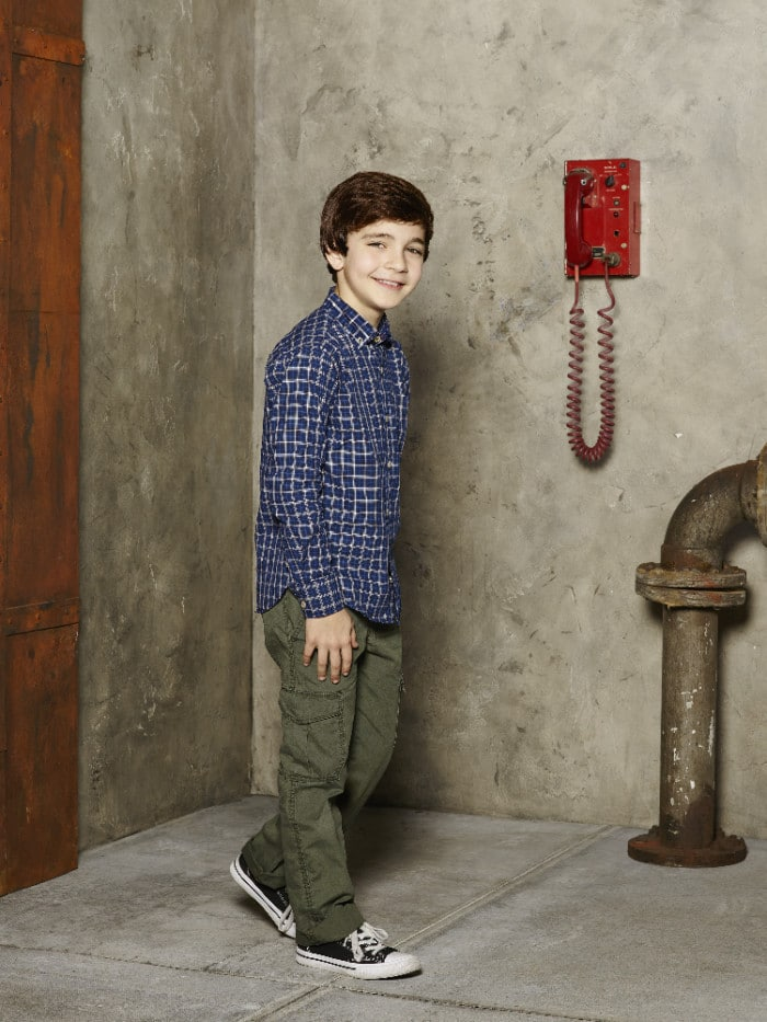 "WALK THE PRANK - Disney Channel's ""Walk the Prank"" stars Bryce Gheisar as Herman. (Disney XD/Craig Sjodin)"