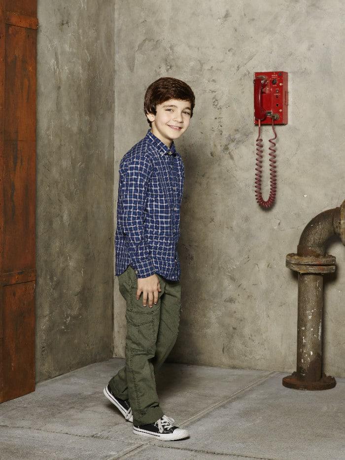 "WALK THE PRANK - Disney Channel's ""Walk the Prank"" stars Bryce Gheisar as Herman. (Disney XD/Craig Sjodin)"