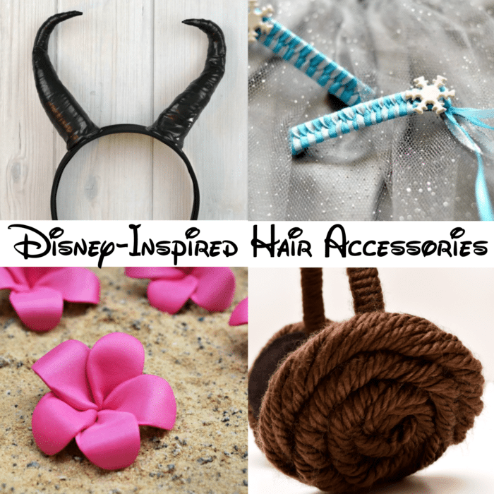 Are you a Disney fan from head to toe? Show it off with this collection of DIY Disney-inspired hair accessories!