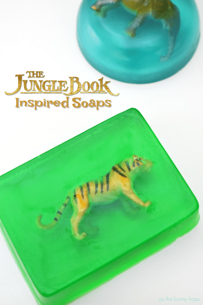 It's fun and easy to make The Jungle Book-inspired glycerin soaps-even if you've never made soaps before!