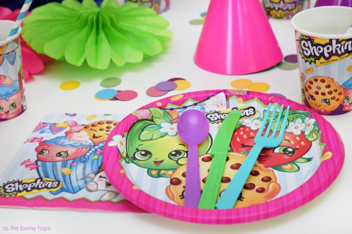 Shopkins Table Accessories