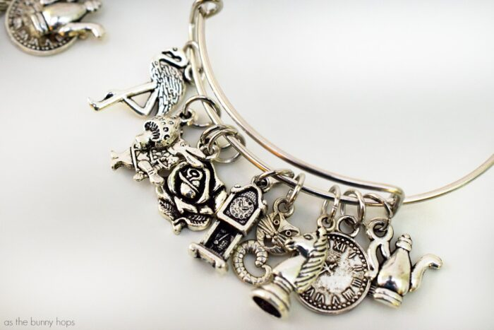 Alice Through The Looking Glass Bangle