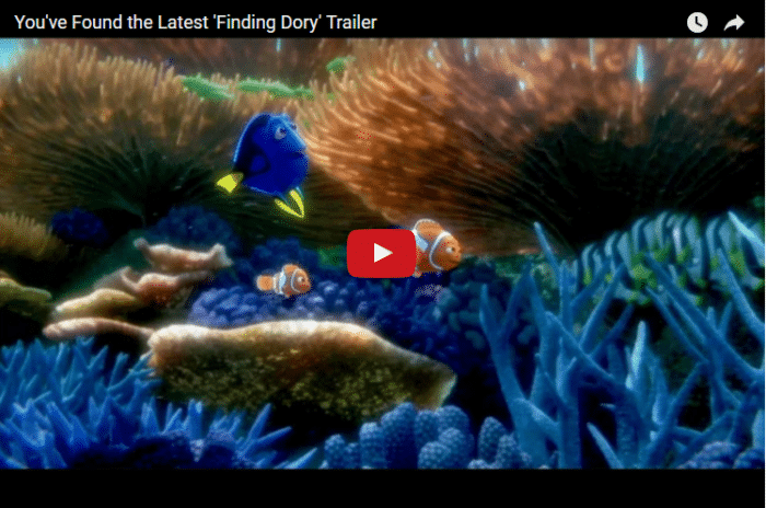 All New Finding Dory Trailer