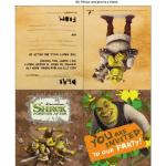 Shrek Party Kit
