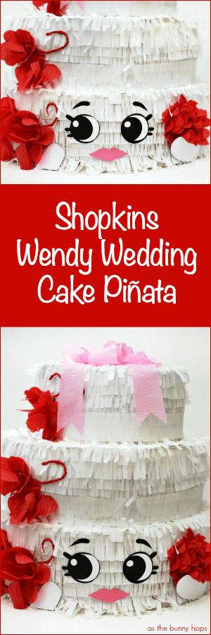 Wendy Wedding Cake Pin