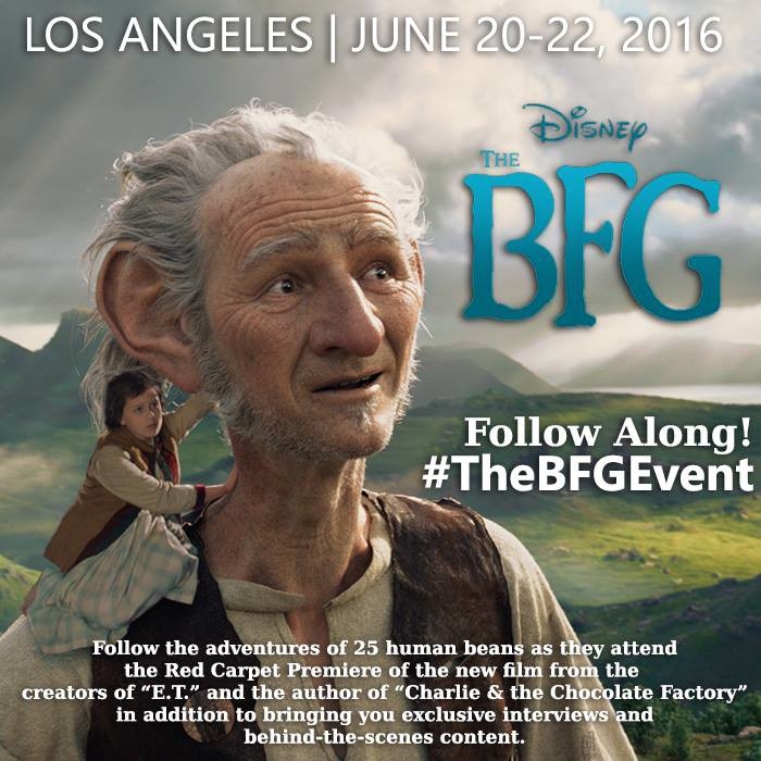 Join Me In Giant Country During  #TheBFGEvent!