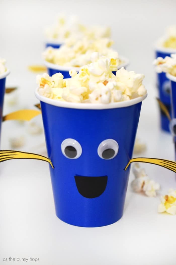 Easy Finding Dory Snack Cups