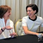 The Ladies of the Castle: Penelope Wilton and Rebecca Hall from The BFG