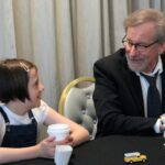 Steven Spielberg and Ruby Barnhill on Disney, Giants and Hugs