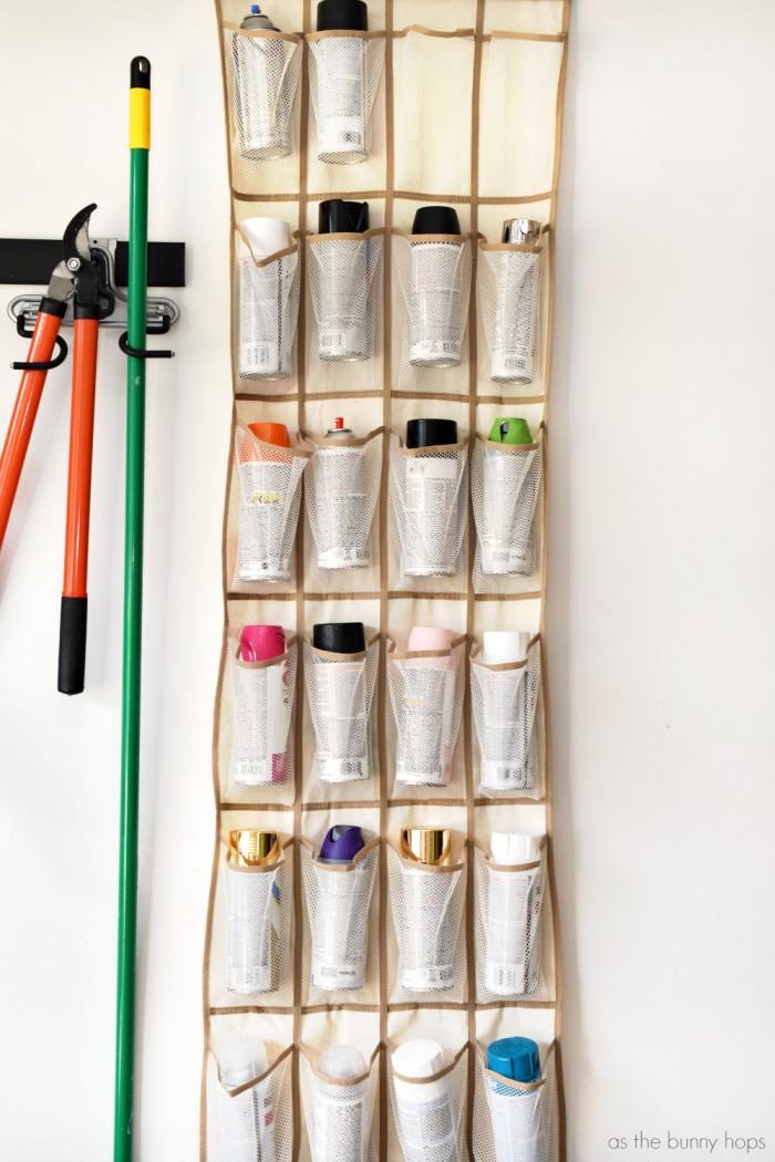 Spray Paint Storage