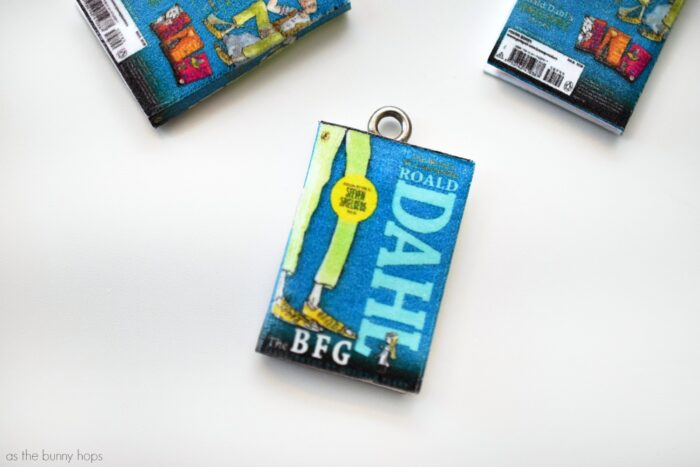 The BFG Mini Book Charms