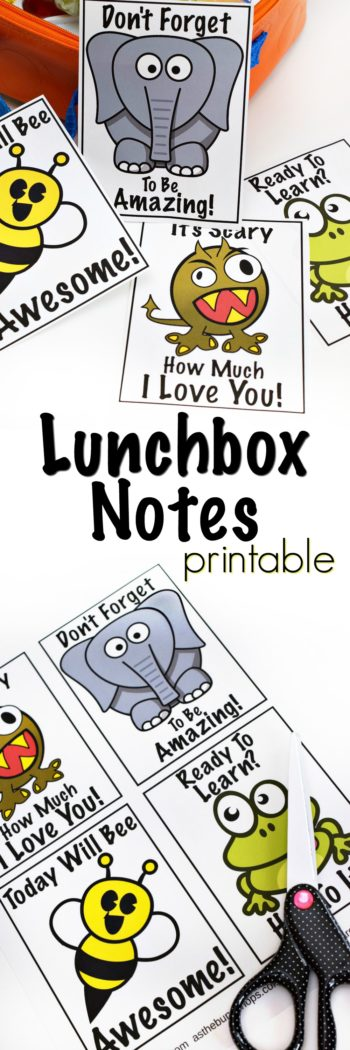 Free Lunchbox Notes Printables