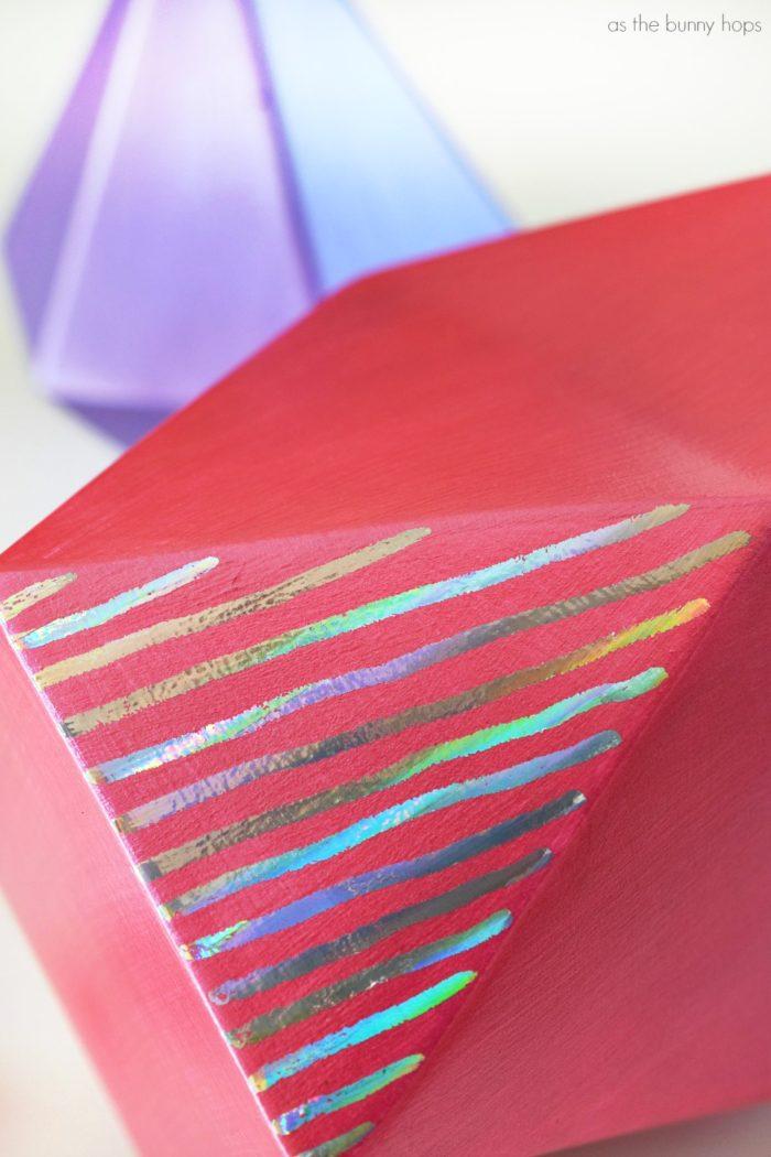 Holographic Foil Stripes