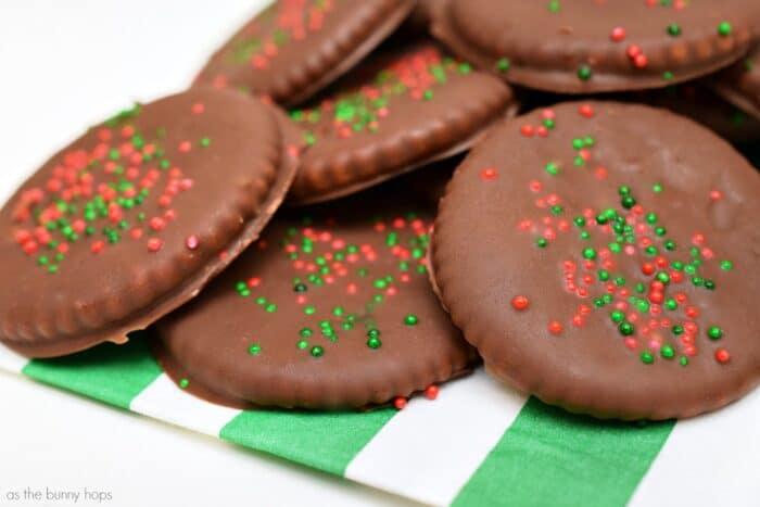 Homemade Holiday Thin Mints