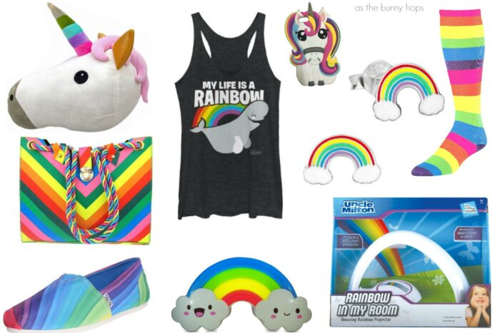 Nine Adorable Rainbow Gifts (With Just A Touch Of Unicorn)