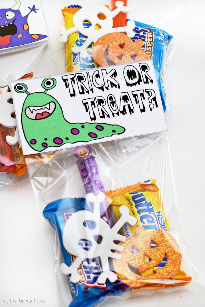 Halloween Treat Bags Printable