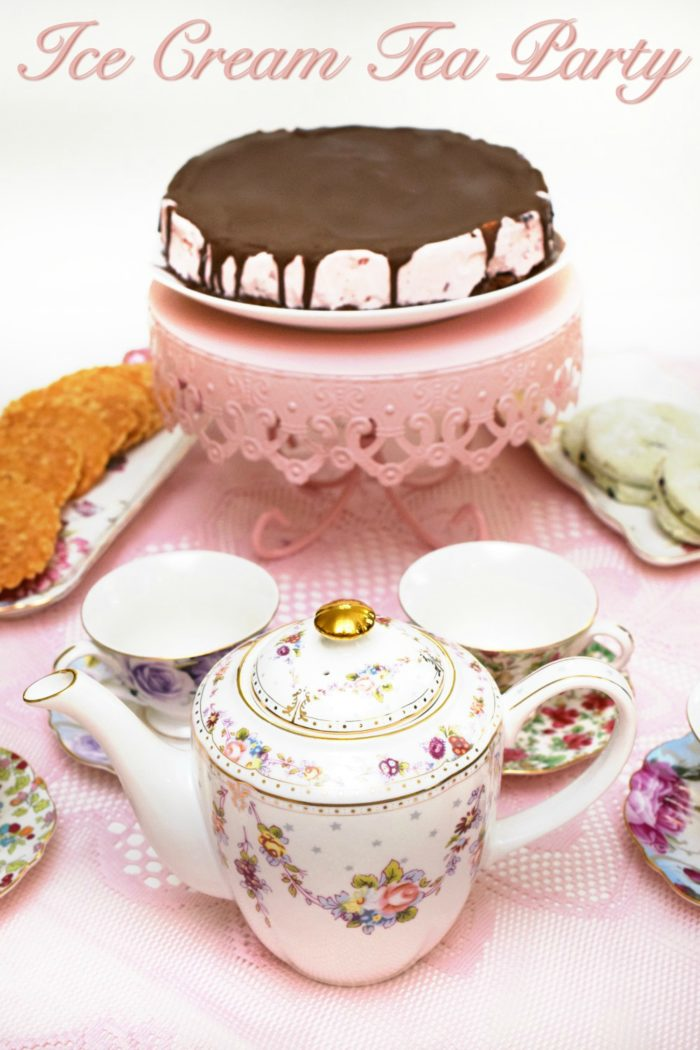 Ice Cream Tea Party Title