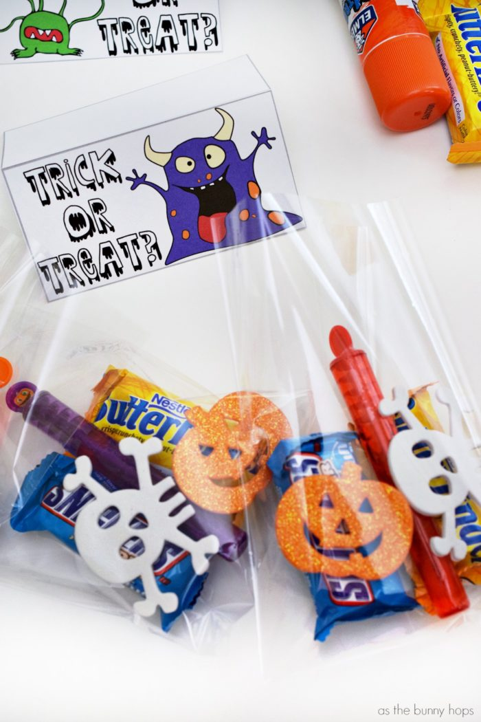Stuffed Halloween Treat Bags