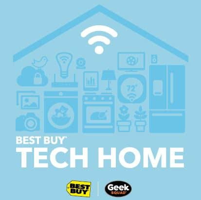 Visit The Best Buy Tech Home