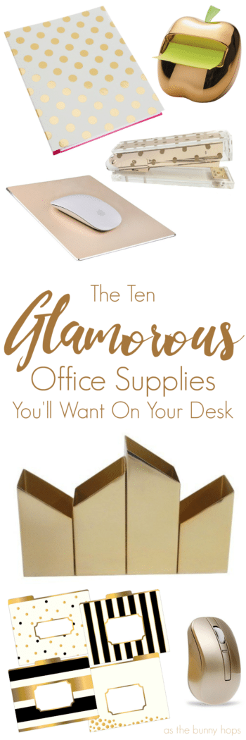 Ten Glamorous Office Supplies