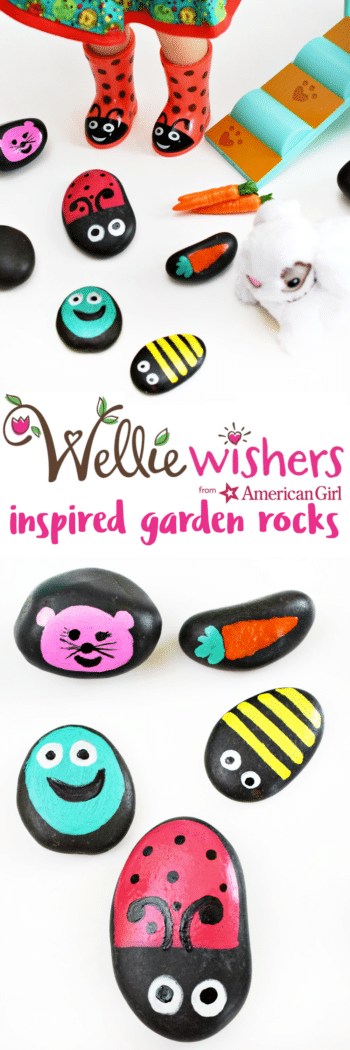 WellieWishers Inspired Garden Rocks