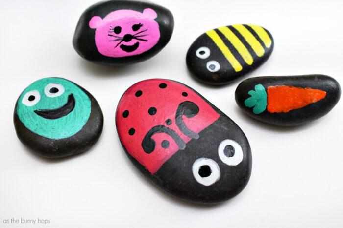 WellieWishers-Inspired Garden Rocks