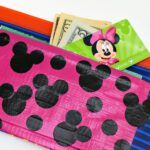 Hidden Mickey Duct Tape Pockets