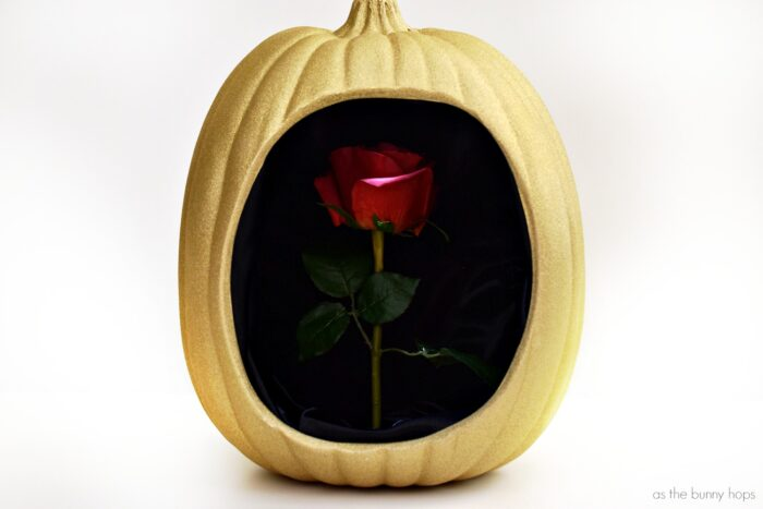 Celebrate a tale as old as time with this Enchanted Rose Pumpkin inspired by Disney's Beauty and the Beast!
