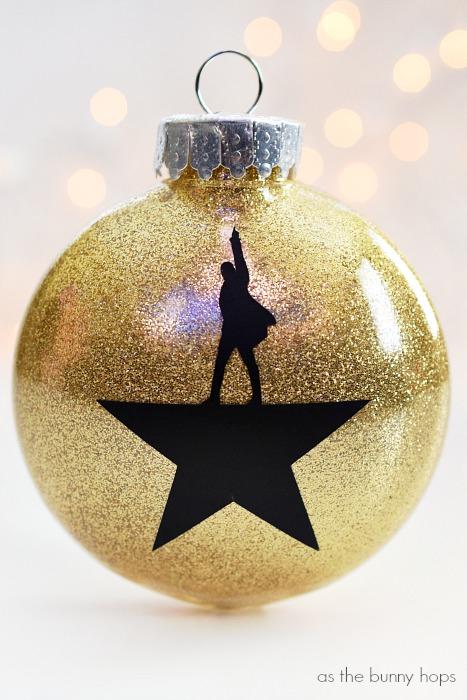Diy Hamilton Christmas Ornaments As The Bunny Hops 174
