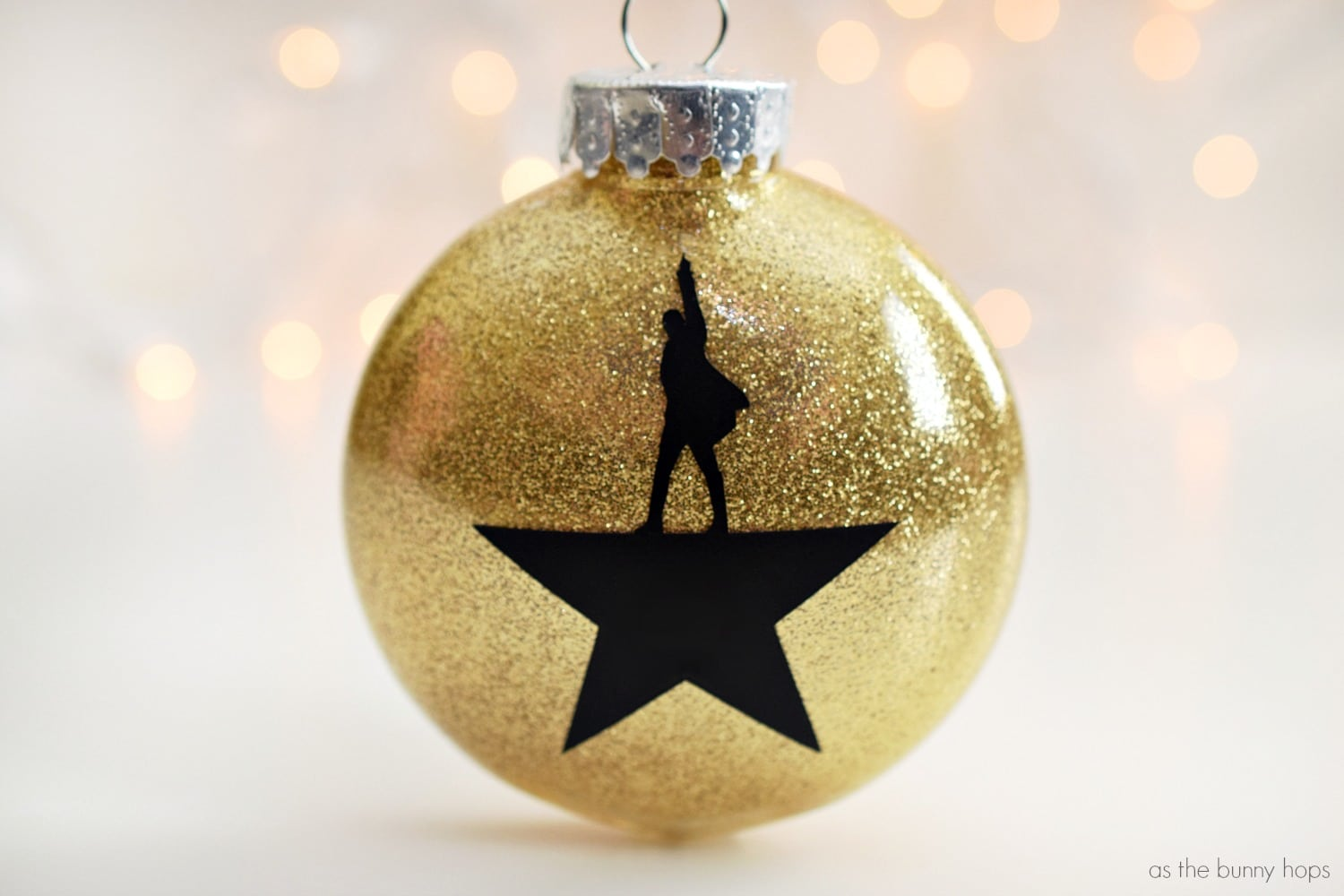 Hamilton Christmas Ornament.Diy Hamilton Christmas Ornaments As The Bunny Hops