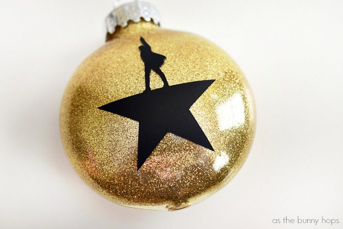 DIY Hamilton Christmas Ornaments - As The Bunny Hops®