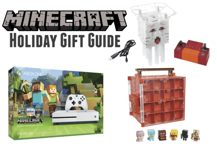 Minecraft Holiday Gift Guide