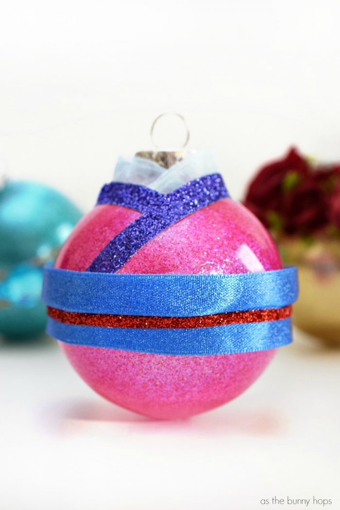 A helpful master list of all of the DIY Disney-Inspired Ornaments you can find on As The Bunny Hops!