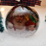 DIY Snow Globe Christmas Ornaments