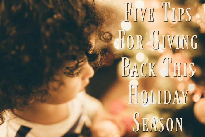 The holidays are a time when many people think about how they can help out the causes that mean the most to them. Here are a few tips to help!
