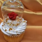 Beauty and the Beast-Inspired Enchanted Rose Cupcakes