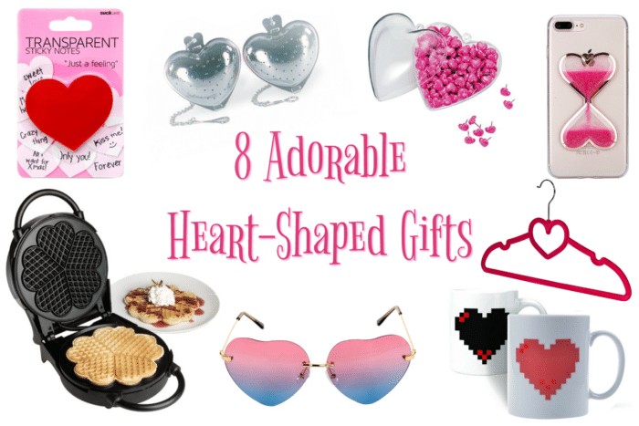 8 Adorable Heart-Shaped Gifts