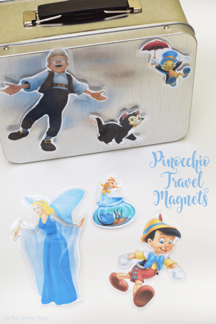 You'll have no strings (or wires) to hold you down with these easy Pinocchio movie night ideas that work at home and on the go!
