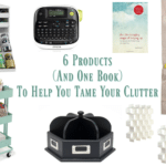 Get Organized: 6 Products (And One Book) To Help You Tame Your Clutter