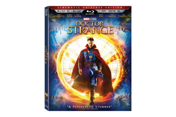 Doctor Strange on Blu-Ray, DVD and Digital HD
