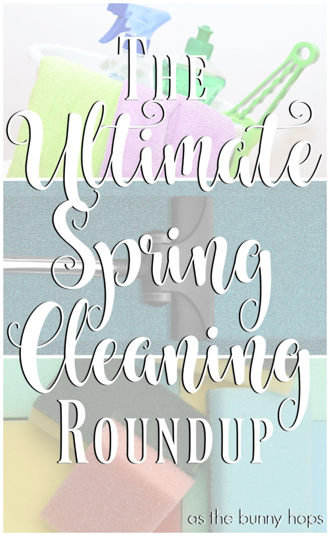 Get your spring cleaning inspiration with this roundup of helpful tips!