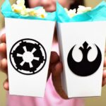 Rogue One-Inspired Rebel and Empire Popcorn Boxes