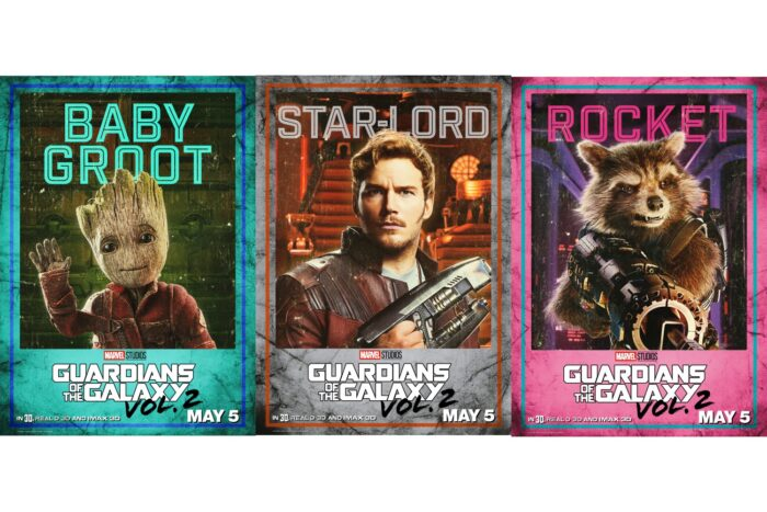 Guardians of the Galaxy Vol. 2: New Character Posters and Video