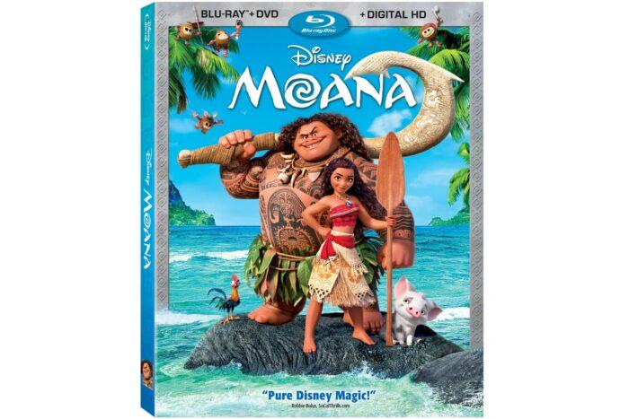 Moana Activities and Bonus Clips