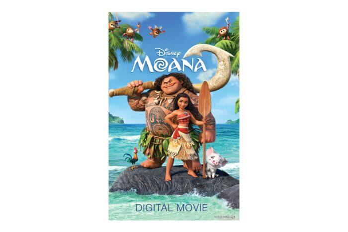 Moana on Blu-ray, DVD and Digital HD
