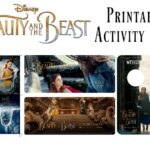 Beauty and the Beast Printable Activity Pages