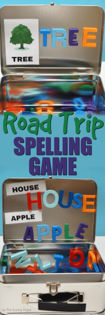 Get ready for your next road trip with this easy and fun Road Trip Spelling Game!