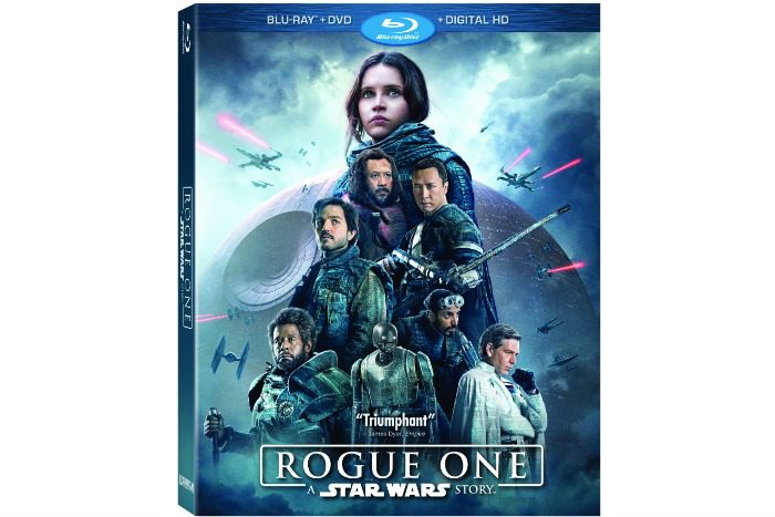 Rogue One on Digital HD, Blu-ray and DVD