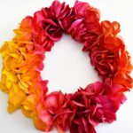 DIY Ombré Painted Wreath